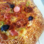 Simit Kenarlı Pizza