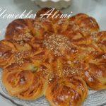 Çemenli Çiçek Çörek