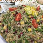 Tabule(Narlı Bulgur Salatası)
