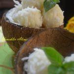 Taze Hindistan Cevizli İrmik Tatlısı