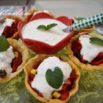 Çıtır Kasede Kırmızı Biber Salatası