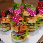 Tavuklu Mini Hamburger
