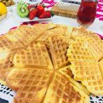 Waffle Makinesinde Pankek